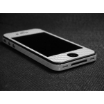 iCarbons iPhone 4 Skin Guard Set Series Full Body [Carbon White]